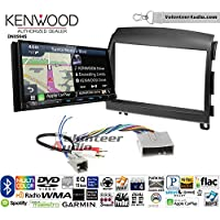 Volunteer Audio Kenwood Excelon DNX994S Double Din Radio Install Kit with GPS Navigation Apple CarPlay Android Auto Fits 2006-2008 Hyundai Sonata