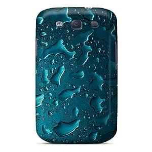 ErleneRobinson Samsung Galaxy S3 Scratch Resistant Hard Phone Cases Unique Design Fashion Blue Iphone Pattern [ekG19638xEXD]