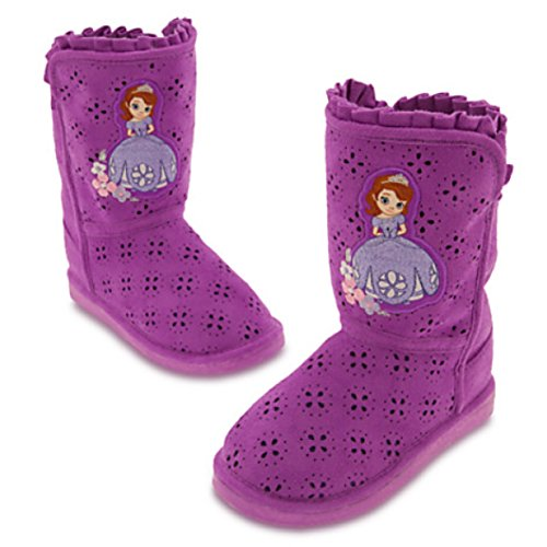 Toddler Sofia The First Deluxe Costumes - Disney Store Deluxe Sofia the First Boots (10 M US toddler)