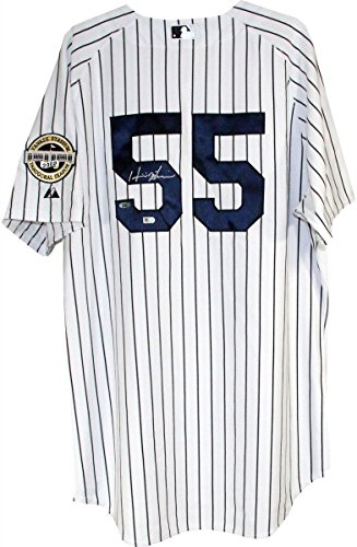 - Hideki Matsui Signed New York Yankees Authentic Pinstripe Jersey w/Inaugural Season Patch (MLB Auth)