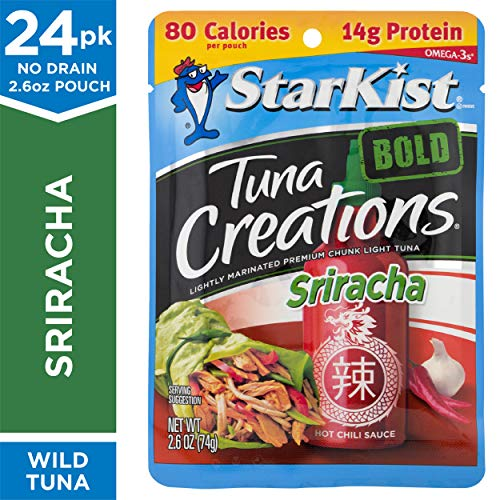 StarKist Tuna Creations BOLD Sriracha - 2.6 oz Pouch (Pack of 24)