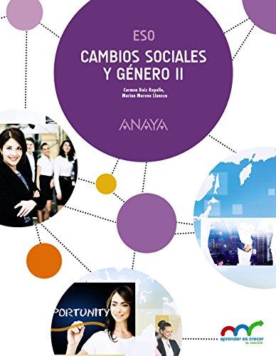 Cambios Sociales y Género II, 3 ESO