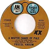 a whiter shade of pale / conquistador 45 rpm single