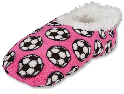 Slippers Snoozies Slippers Soccer Pink Slippers Soccer Pink Pink Snoozies Snoozies Soccer YqpUF