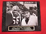 Ray Nitschke Vince Lombardi Packers Collector Plaque w/8x10 VINTAGE Photo