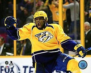 "P.K. Subban Nashville Predators 2016-2017 NHL Action Photo (Size: 8"" x 10"")"
