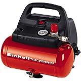 Einhell Kompressor TC-AC 190/6/8 OF (1100 W, 6 L, Ansaugleistung 185 l / min, 8 bar, ölfrei, ergonomische Bauform, Standfüße)