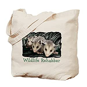 CafePress - Wildlife Rehab - Natural Canvas Tote Bag, Cloth Shopping Bag