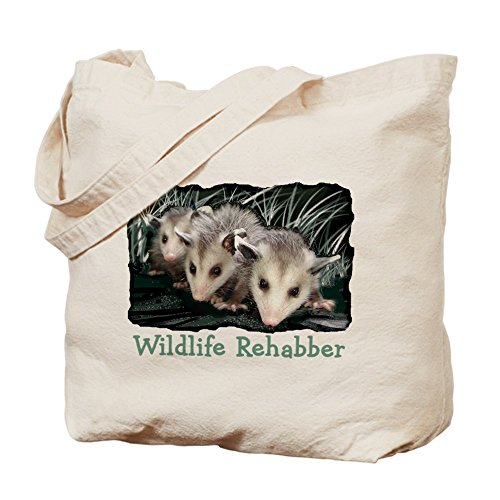 CafePress - Wildlife Rehab Tote Bag - Natural Canvas Tote Bag, Cloth Shopping Bag