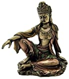 Sale - Royal Ease Kuan-yin Water Moon Guanyin Statue Bronze - Ships Immediatly ! by Private Label