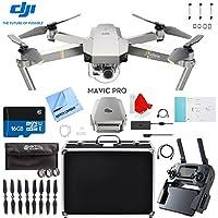 DJI Mavic Pro Platinum Quadcopter Drone with Aluminum Case Plus Filter Kit and Accessories Bundle