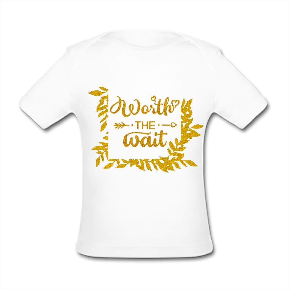 UlanLi Infant Tee Worlds Best Big Sis Baby Organic Short Sleeve T-Shirt White