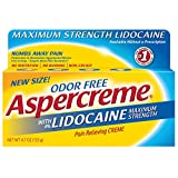 Aspercreme Pain Relieving Creme with Lidocaine, 4.7 Ounce