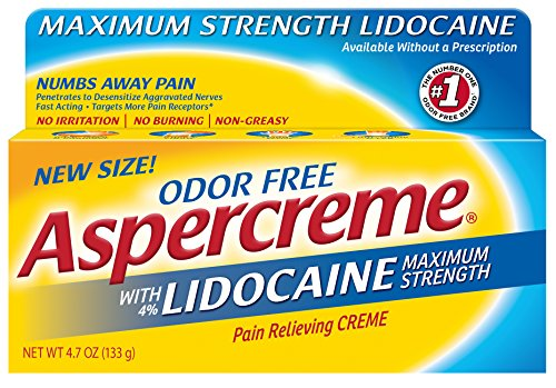 Aspercreme Relieving Creme Lidocaine Ounce product image