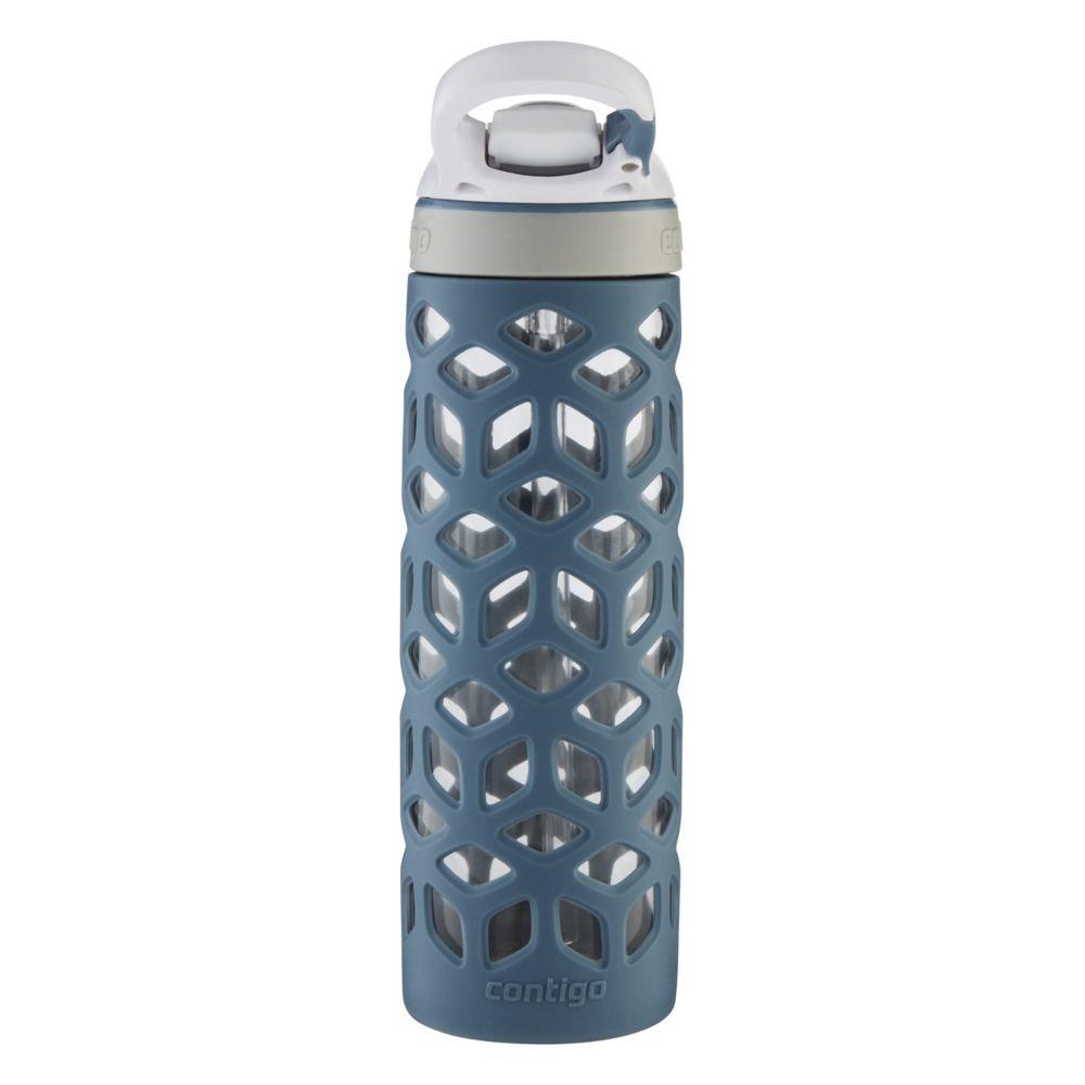 20 oz Stormy Weather 74179 Contigo AUTOSPOUT Straw Ashland Glass Water Bottle