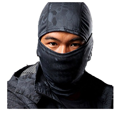 [Face Mask,BeautyVan Camouflage Army Cycling Motorcycle Cap Balaclava Hats Full Face Mask (C, Free] (Full Face Gas Mask Costume)