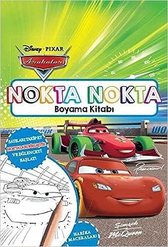 Arabalar Nokta Nokta Boyama Kitabi Collective 9786050945058