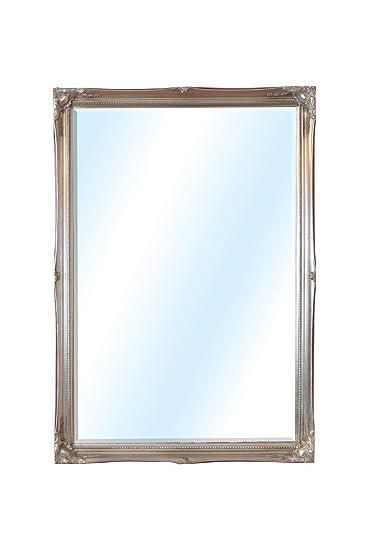 Amazon.com: 3Ft4 X 2Ft4 101 X 71cm Large Silver Ornate ...