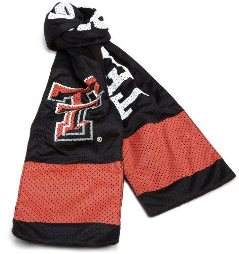 - NCAA Texas Tech Red Raiders Jersey Scarf