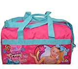JoJo Siwa 600D Polyester Duffle Bag with printed PVC Side Panels
