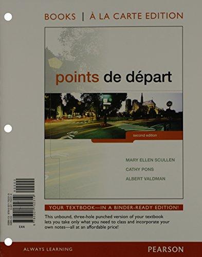 Points De Depart (Looseleaf) W/Access