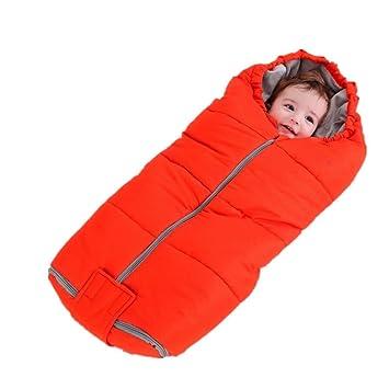 MTTLS Saco de Dormir del bebé NWYJRPies Calientes Kick algodón bebé Saco Suave Acogedor Anti lecho