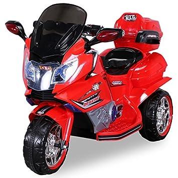 Actionbikes Infantil Moto Eléctrica jt188 con 20 Watt Motor Electro Coche niños VEHICULO Infantil minimotorrad Moto - Rojo, **Kinder**: Amazon.es: Juguetes ...