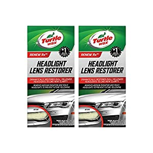 Turtle Wax T-240KT Headlight TWFAW Lens Restorer Kit, Two Units