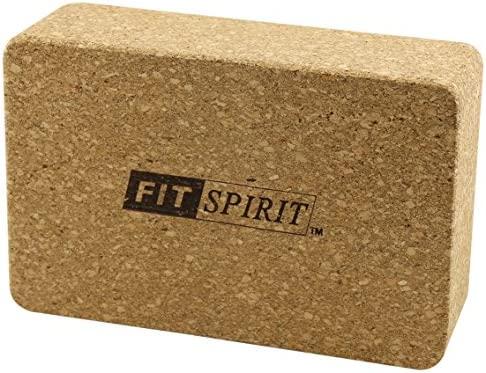 Ajuste Spirit š corcho madera ejercicio yoga bloque - 9
