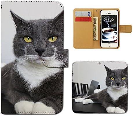 (ティアラ) Tiara iPhone7 Plus 5.5 iPhone7Plus スマホケース 手帳型 ねこ 手帳ケース カバー猫 ねこ ネコ 写真 ペット 子猫 E0267040089504