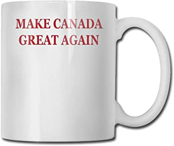 Amazon.com: Make Canada Great Again Coffee Mugs. Large ...