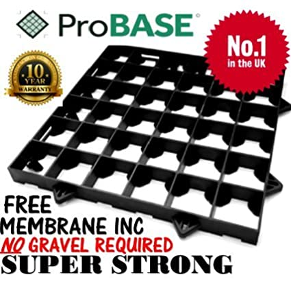 ProBase 6ft x 5ft GARDEN SHED BASE SYSTEM- 12 HEAVY DUTY GRIDS- Plastic QBS WORLDWIDE LTD