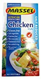 non chicken chicken stock - Massel Gluten-Free, Salt Reduced Ultracube Bouillon Cubes, Chicken Style, 3.5-Ounce (Pack of 12)