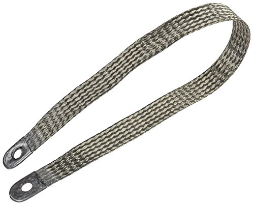 Braided Ground - JEGS Performance Products 10297 Ground Strap Fine Stranded Braided Copper