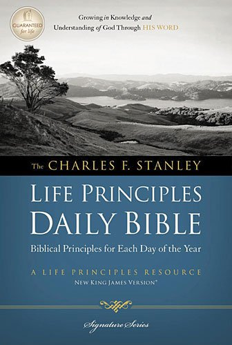 Charles Stanley Principles Daily Paperback product image