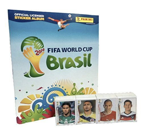 Panini Brazil 2014 Official Licensed product Empty Album + Complete Sticker Collection ()