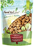 Food to Live Certified Organic Dried White Mulberries (Non-GMO, Kosher, Unsulfured, Bulk) (1 Pound)