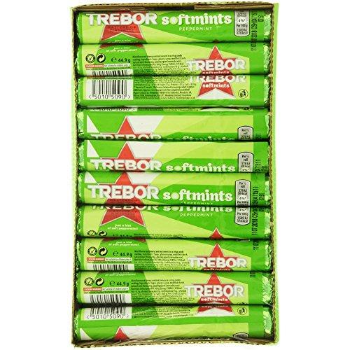Trebor Softmint Peppermint (pack of 40)