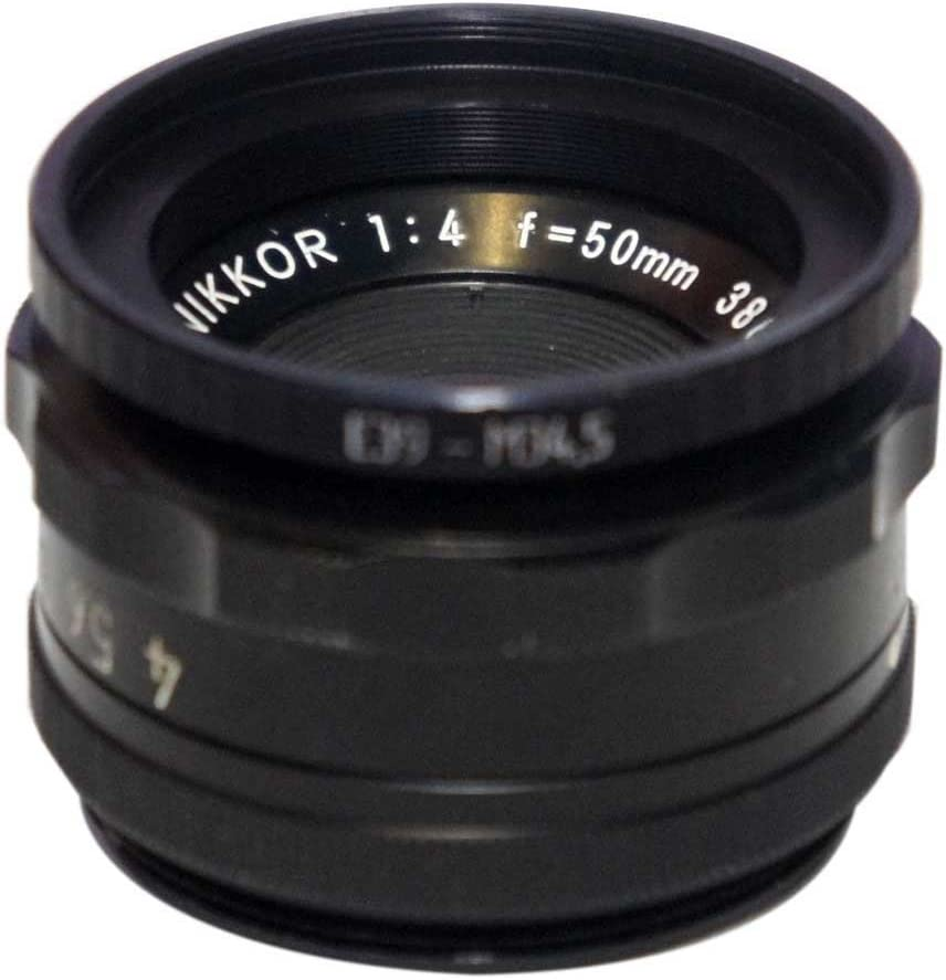 M34.5x0.5 Male to M39x0.5 Female Thread Adapter Step Ring for El-Nikkors E39