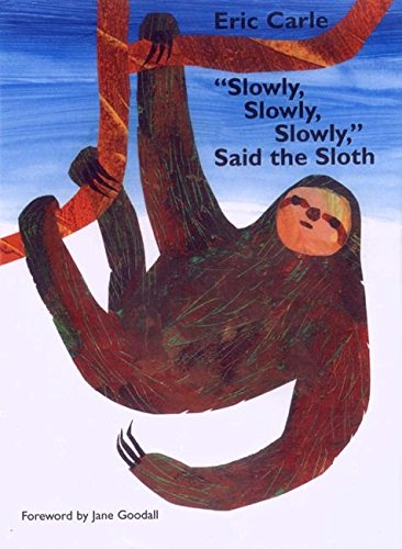 Slowly, Slowly, Slowly, Said the Sloth (Picture Puffin): Amazon.co ...