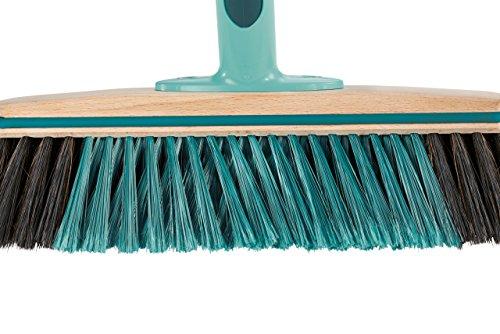 Leifheit Hard Floor Broom Xtra Clean Eco Plus 30 cm, Floor Broom, House Broom, Dustpan Brush, Wood / Mint Green, 45002 by Leifheit (Image #6)