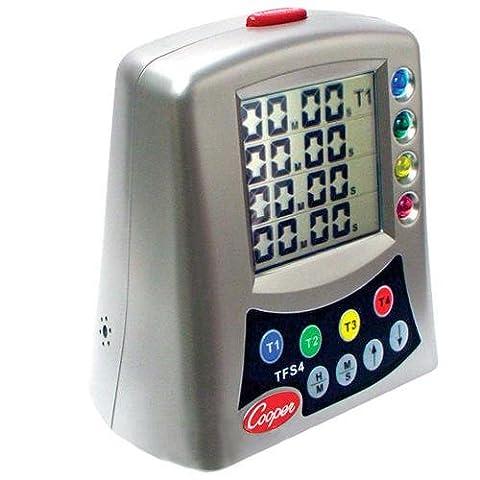 Cooper-Atkins TFS4-0-8, Multi-Station Digital Timer (8 items per lot) - 8 Digital Stations