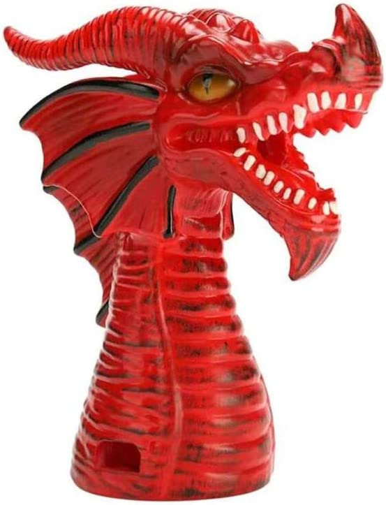 Fire Breathing Dragon Original Steam Release Accessory,Steam Release Diverter for Instant Pot Pressure Cooker Tool, Cabinets Savior for Most Models Pressure Cooker…-Red