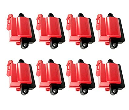 Amazon com: REV Ignition High Performance Ignition Coil Set of 8 GM