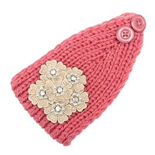 [Women Headband Euone Bohemia Knitting Headband Handmade Keep Warm Hairband (Pink)] (Zoolander Costume Design)