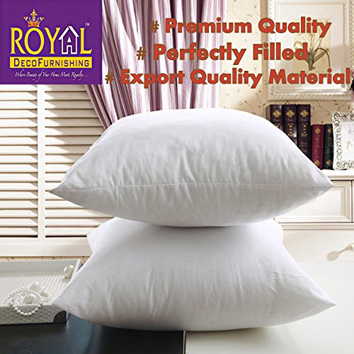 Royal decofurnishing Juego de 2 cojín relleno de fibra de ...