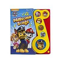 Nickelodeon PAW Patrol - PAWsome Songs! Music Sound Book - PI Kids