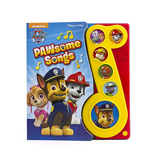 Nickelodeon PAW Patrol - PAWsome Songs Sound Book - PI Kids