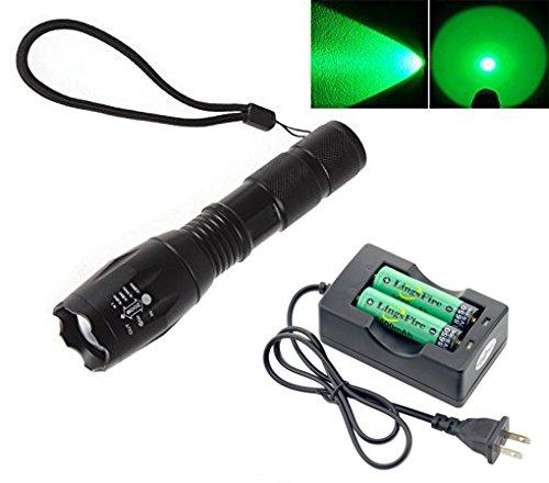 LingsFire Flashlight Waterproof Rechargeable Double Channel