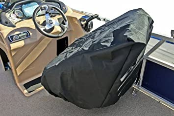 Surprising Captains Chair Boat Seat Cover For Pontoon Boat Driving Seats Superior Resistance To Harmful Uv Rays Fading And Mildew Alphanode Cool Chair Designs And Ideas Alphanodeonline